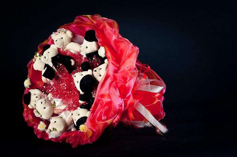 Необычные букеты для девушки своими руками 91